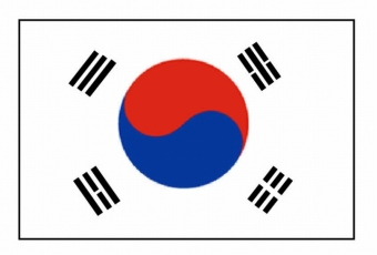 south-korea-flags