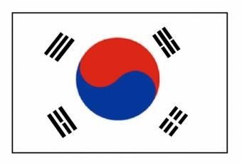 south-korea-flags